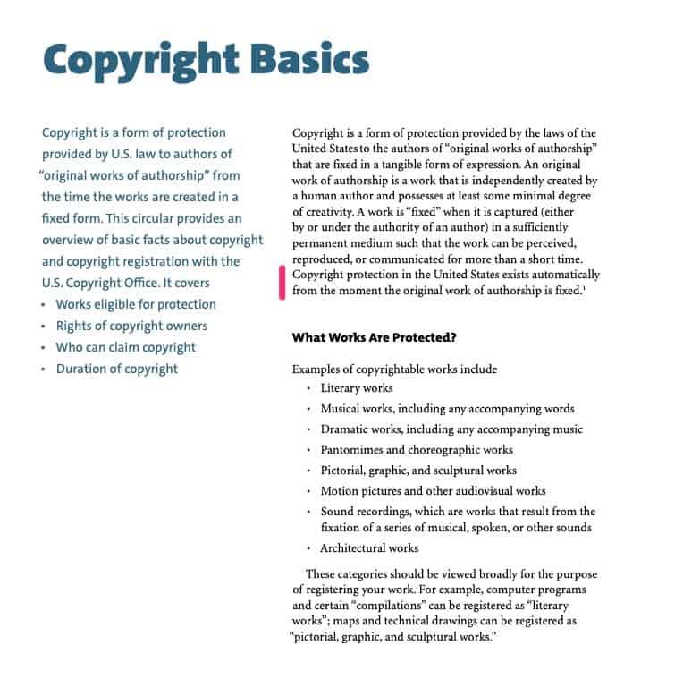 il diritto d'autore nasce non appena l'opera viene fissata