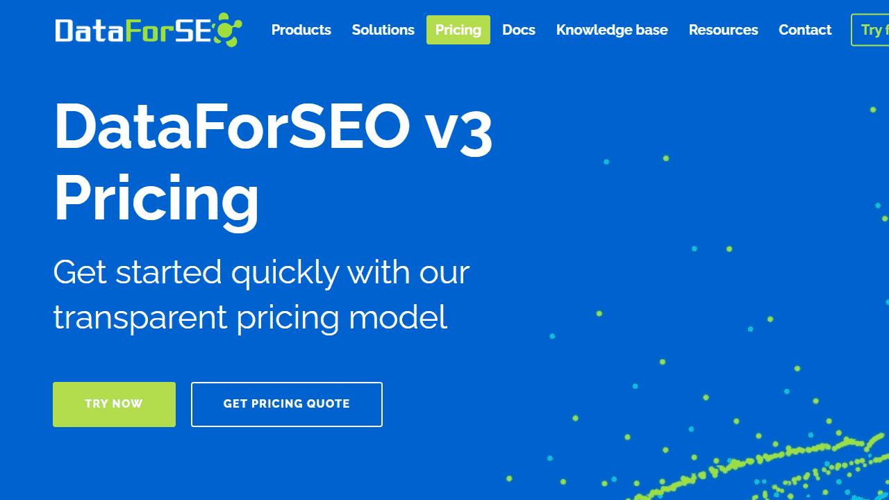 DataForSEO для анализа конкурентов
