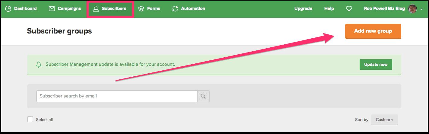 deliver content upgrades