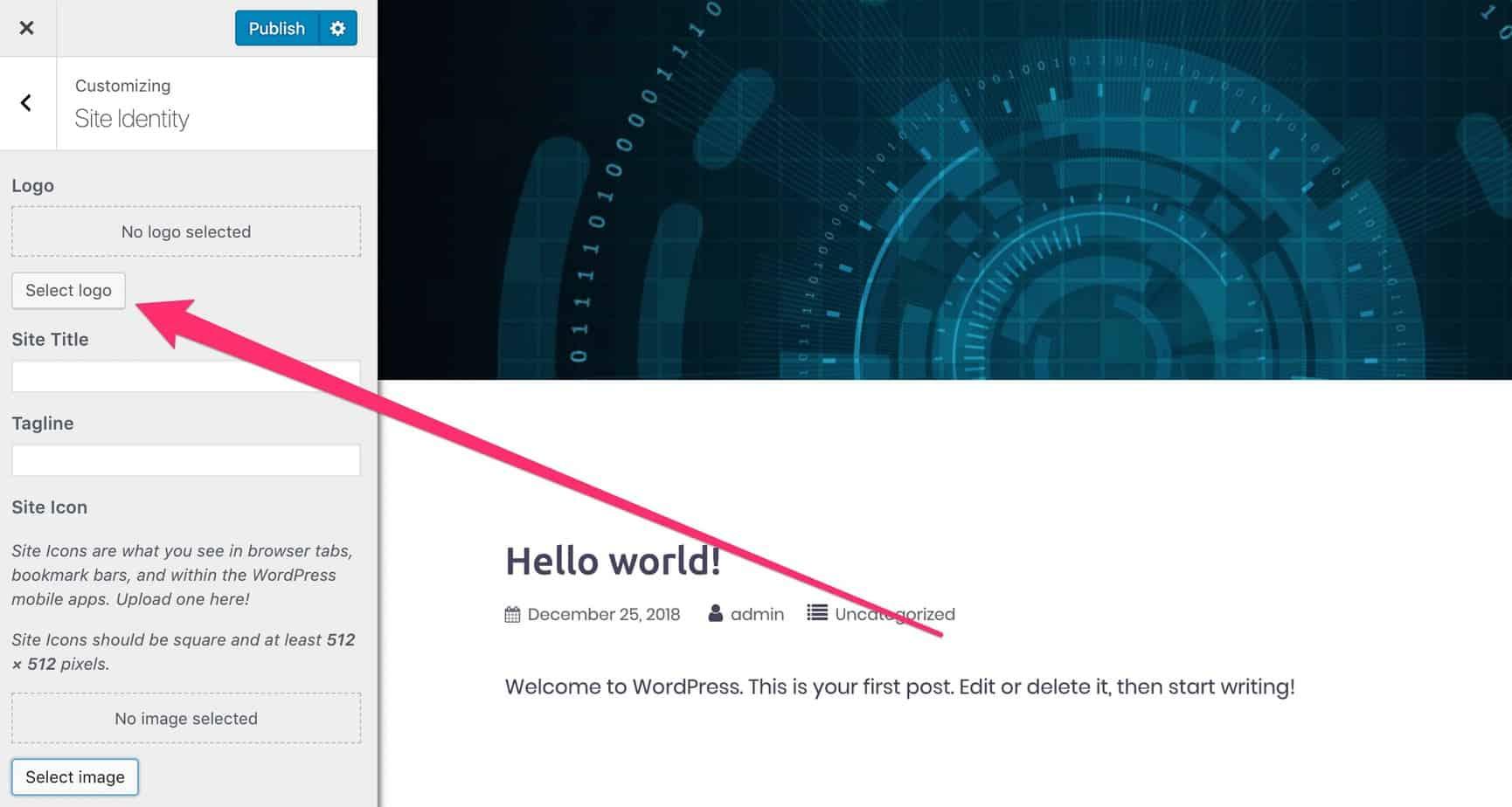 Come installare WordPress su Blue Host