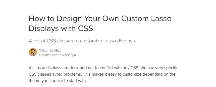 design your own custom Lasso display box