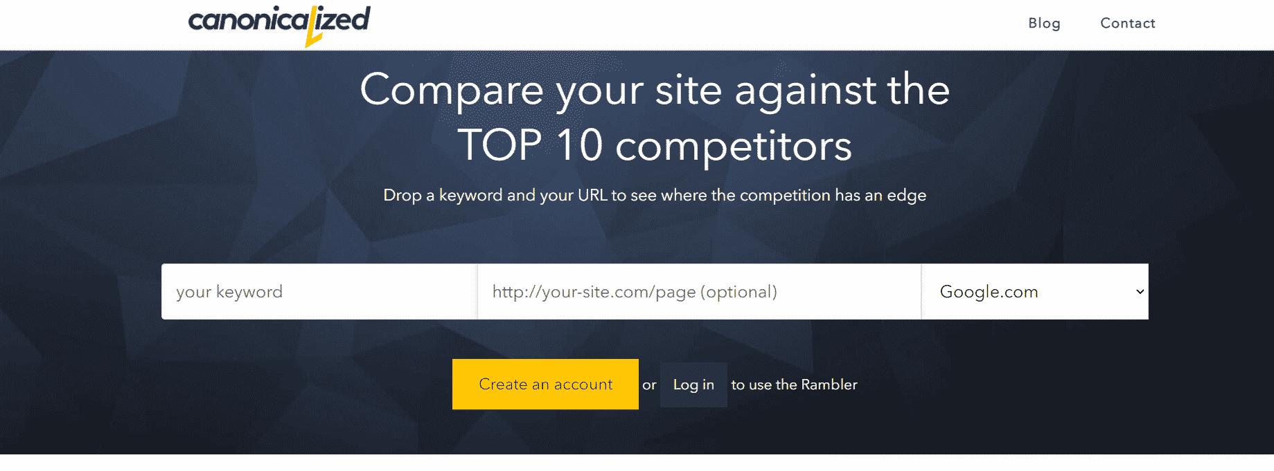 seorambler для анализа конкурентов