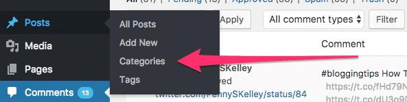 Adding Category Descriptions to a WordPress site